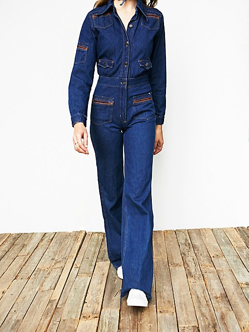 Product Image: Vintage 1970s Denim Jumpsuit
