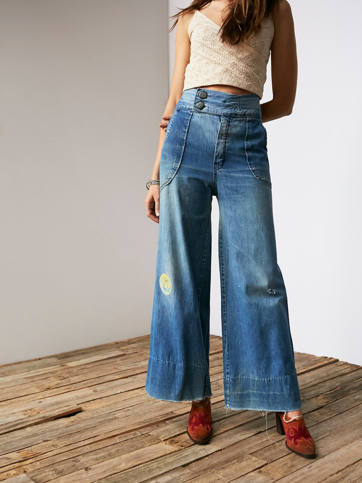 Vintage '60s Sailor Jeans