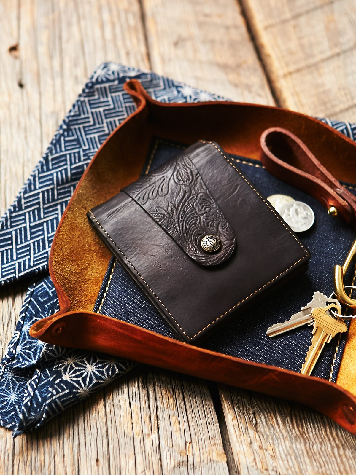 Campomaggi Distressed Wallet