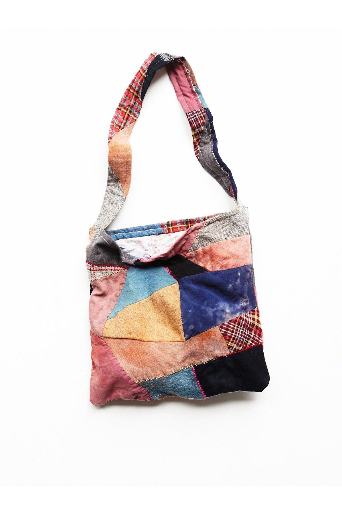 Vintage Handmade Patchwork Bag