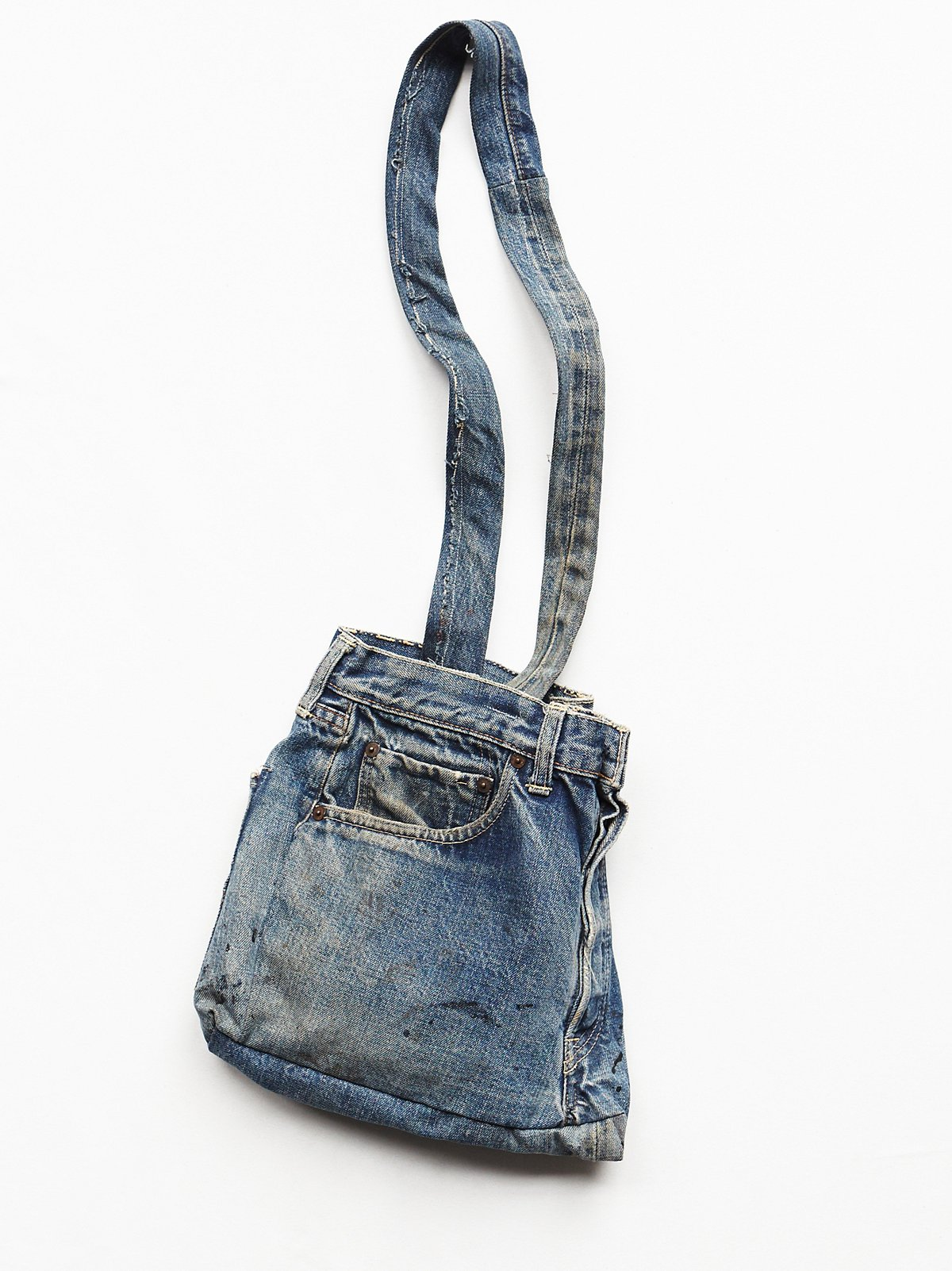 Vintage Handmade Denim Bag