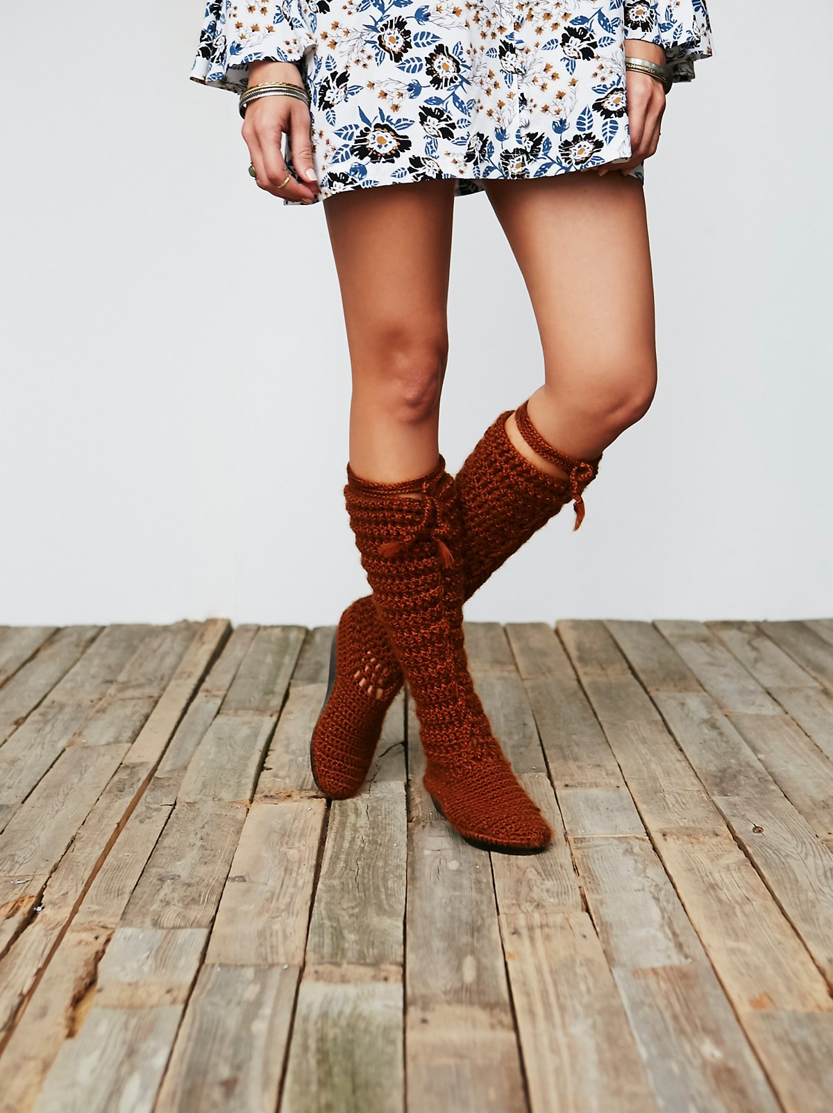 Vintage Knitted Booties