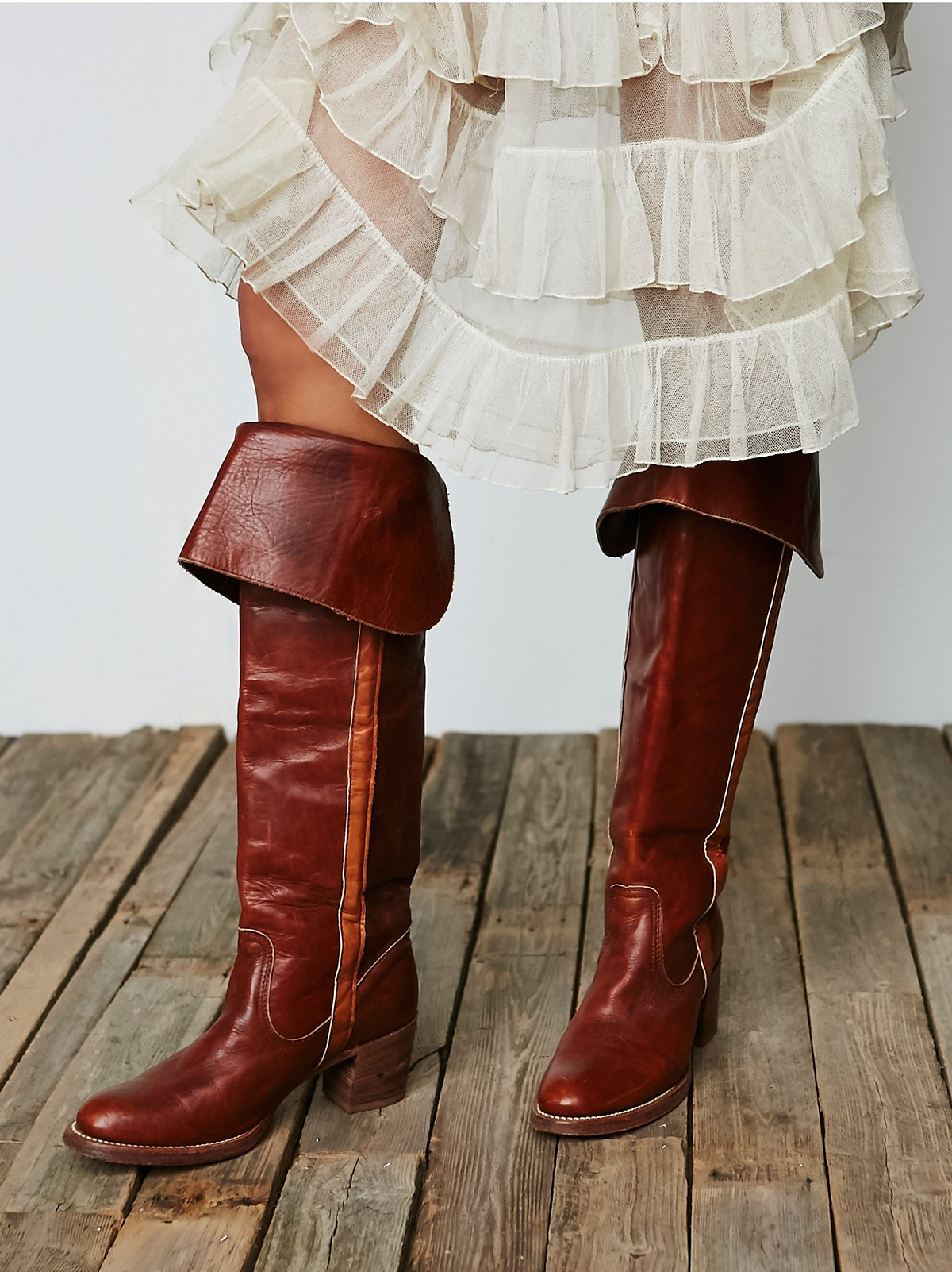 Vintage '70s Frye Tall Boots