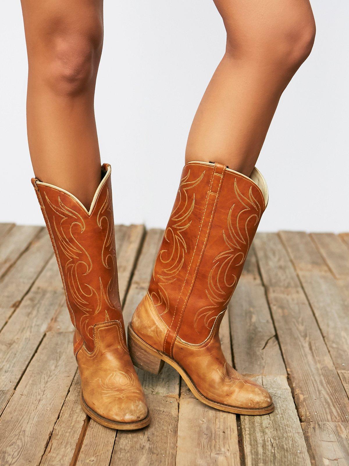 Vintage '70s Cowboy Boots