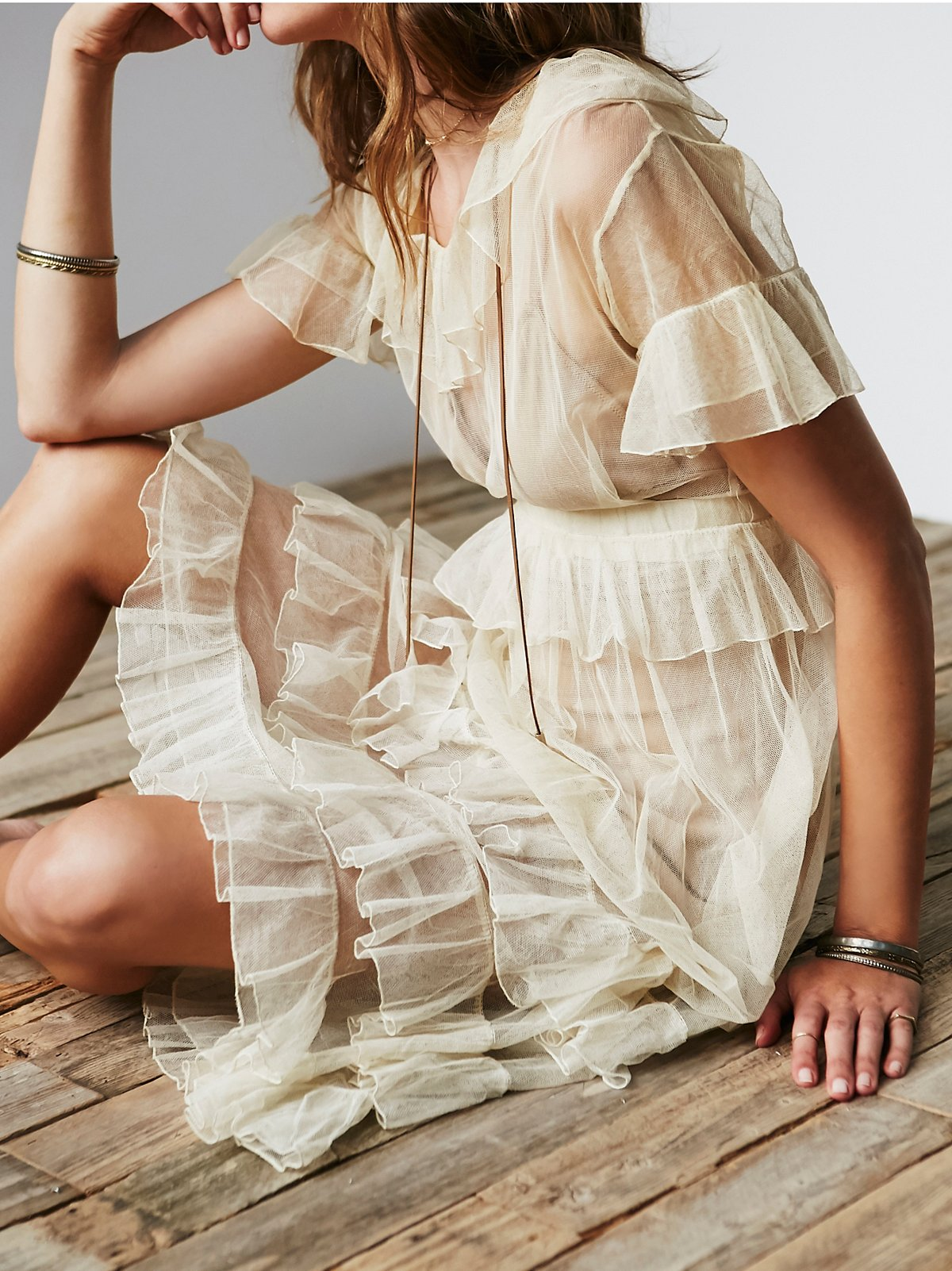 Vintage 1920s Net Dress