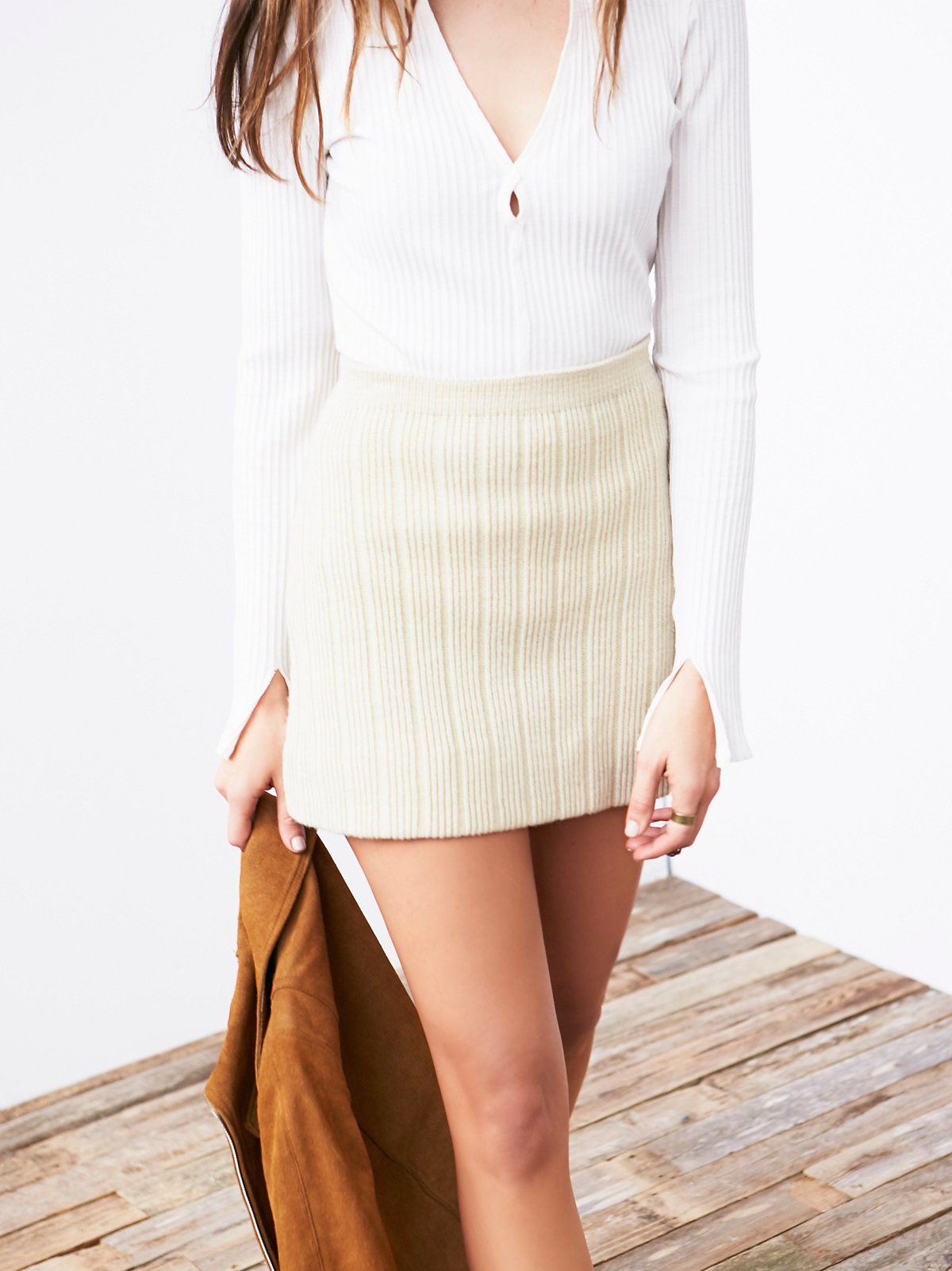 Vintage Betsey Johnson Knit Skirt