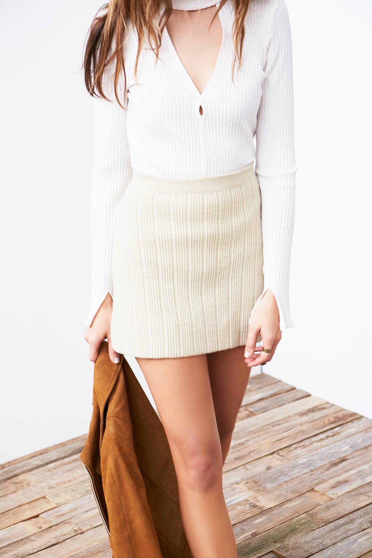 Vintage Betsey Johnson Knit Skirt