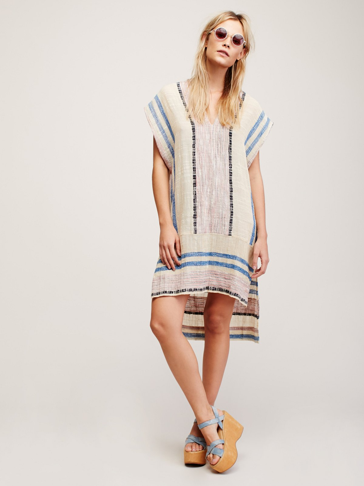 So Easy Striped Pullover
