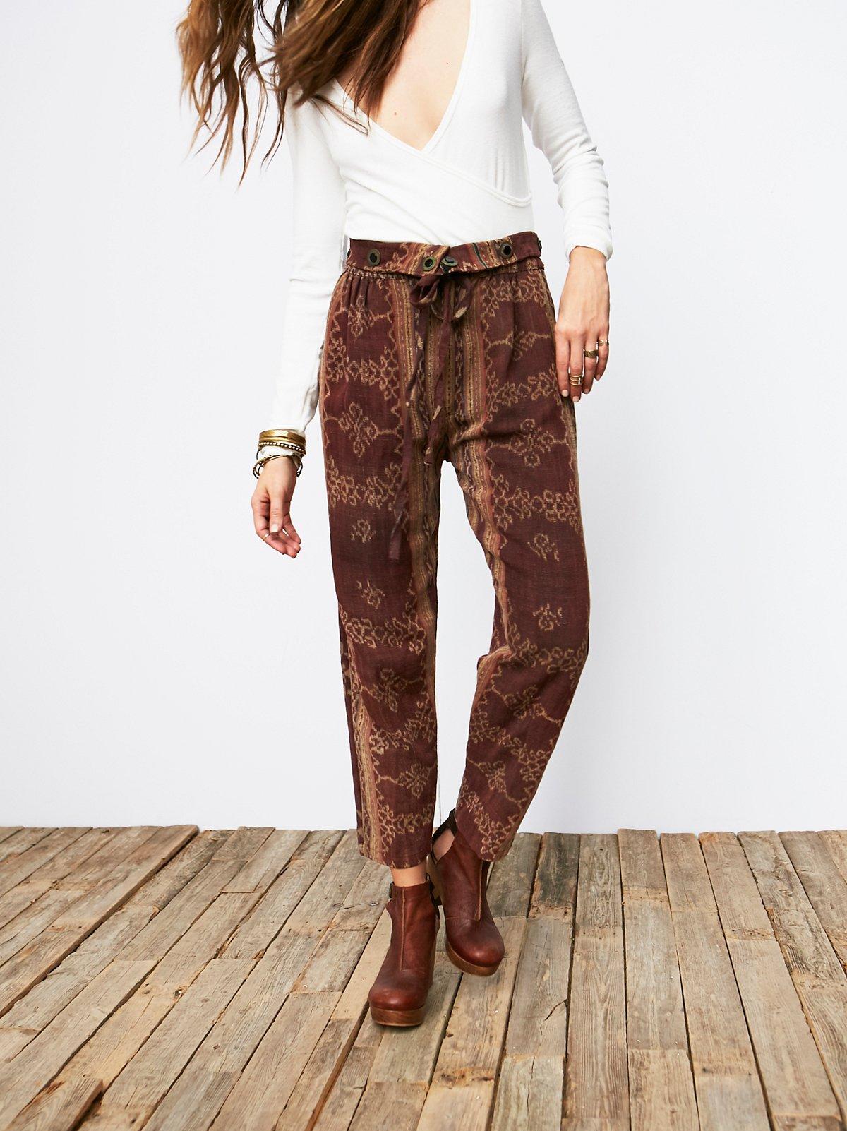 Vintage Tapestry Harem Pants