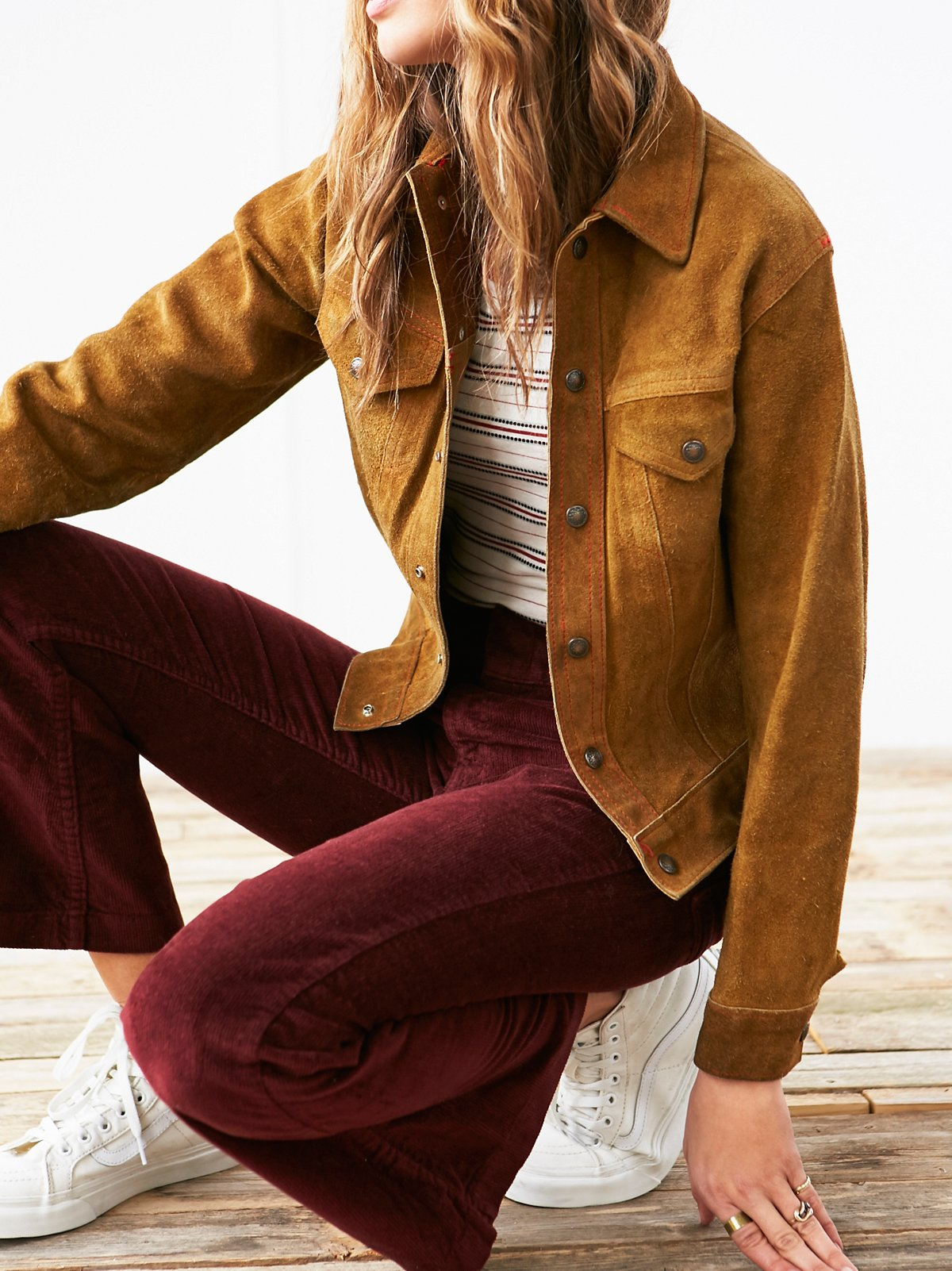 Vintage 1960s Suede Jacket