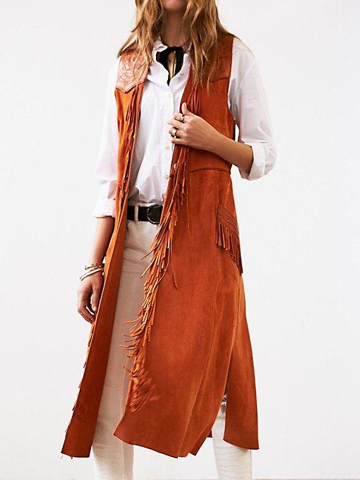 Product Image: Vintage Leather Vest