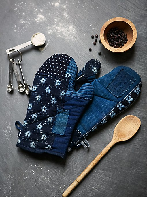 Product Image: Denim Oven Mitts