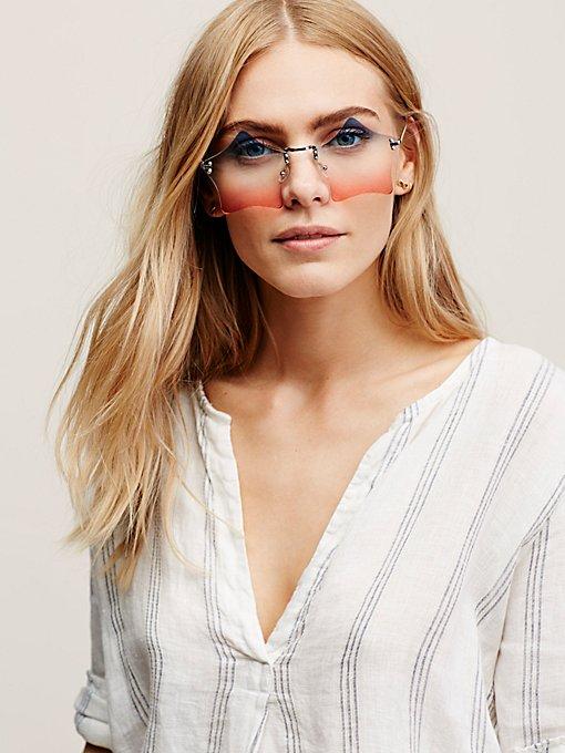 Product Image: Rockstar Rimless Sunglasses