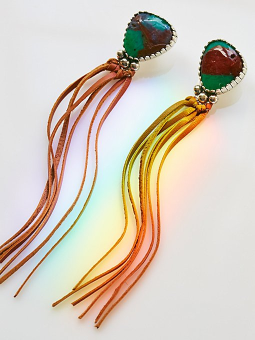 Product Image: Calm Rivers Fringe Earrings