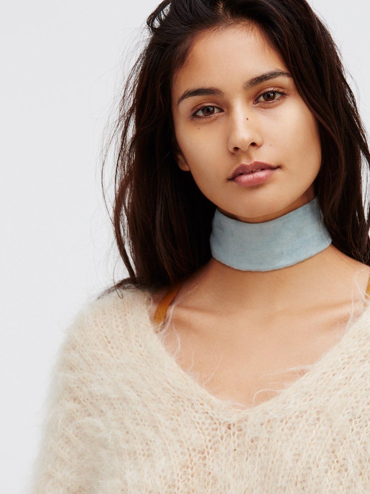 Daisy Jane麂皮颈链
