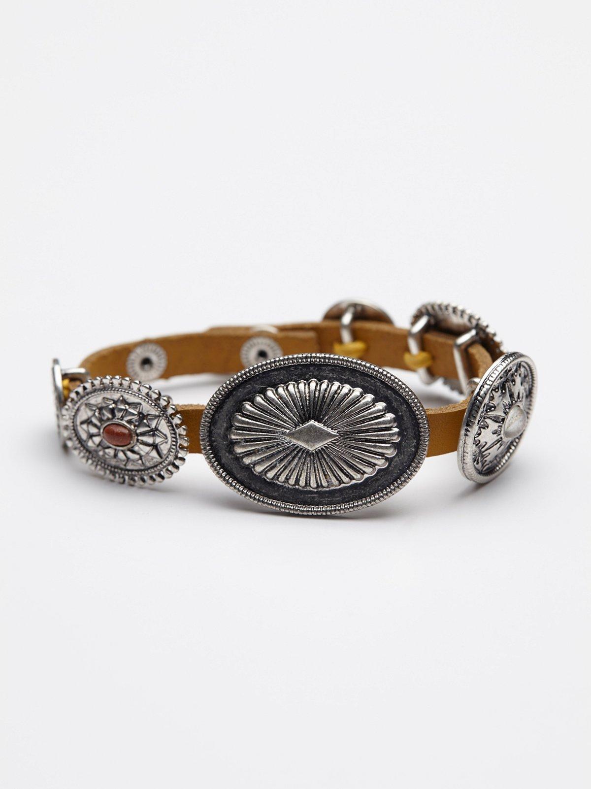 Concho Wrap Bracelet