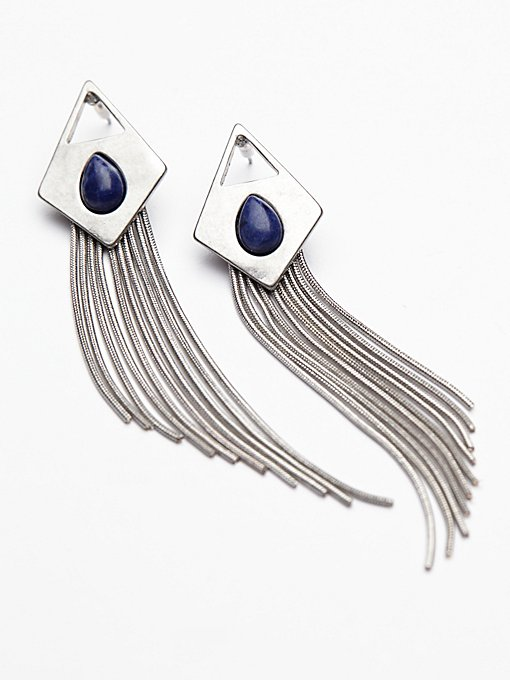 Product Image: Sangria Sunrise Fringe Earrings