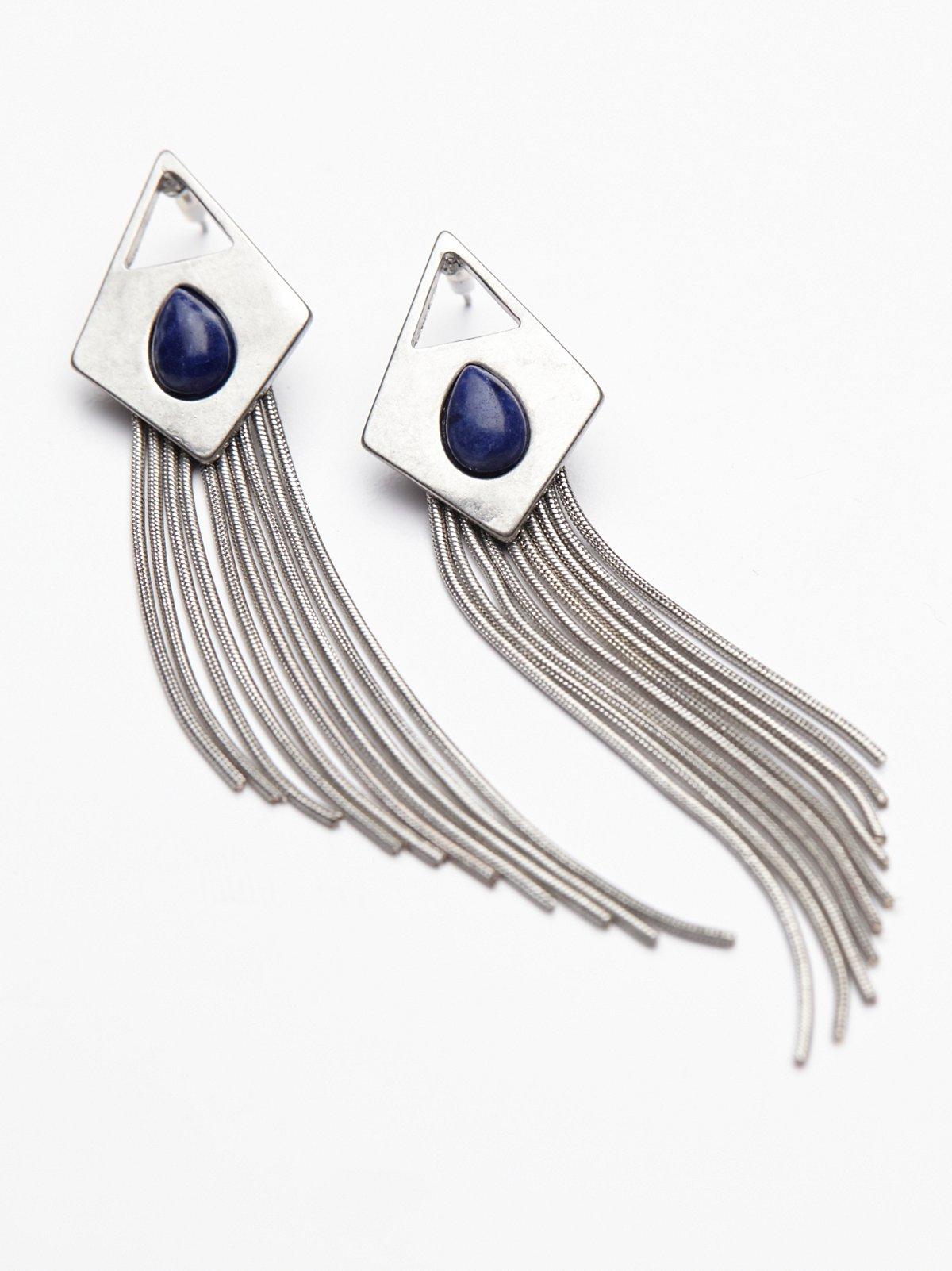 Sangria Sunrise Fringe Earrings