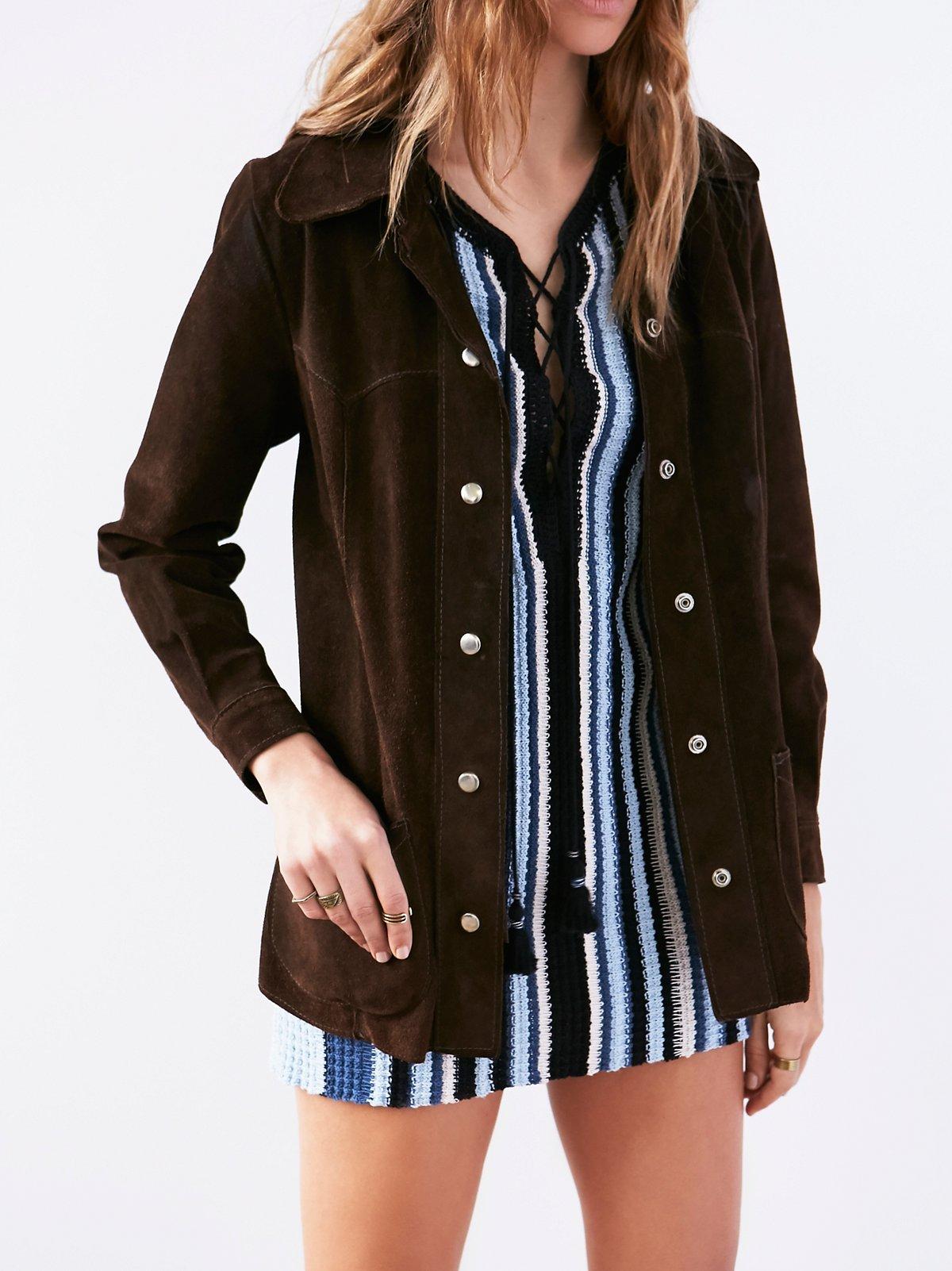 Vintage 60s Suede Jacket