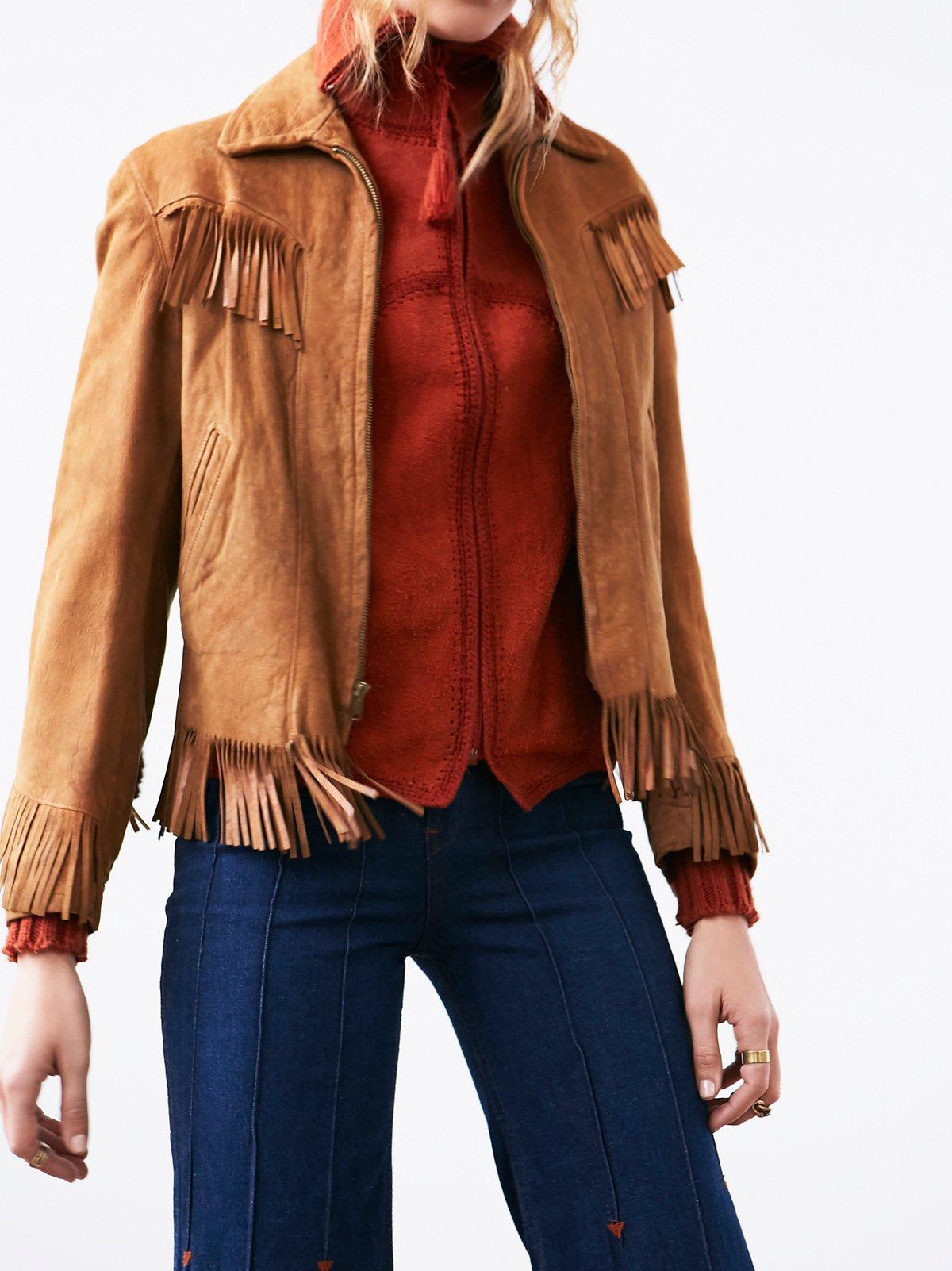 Vintage Suede Western Jacket