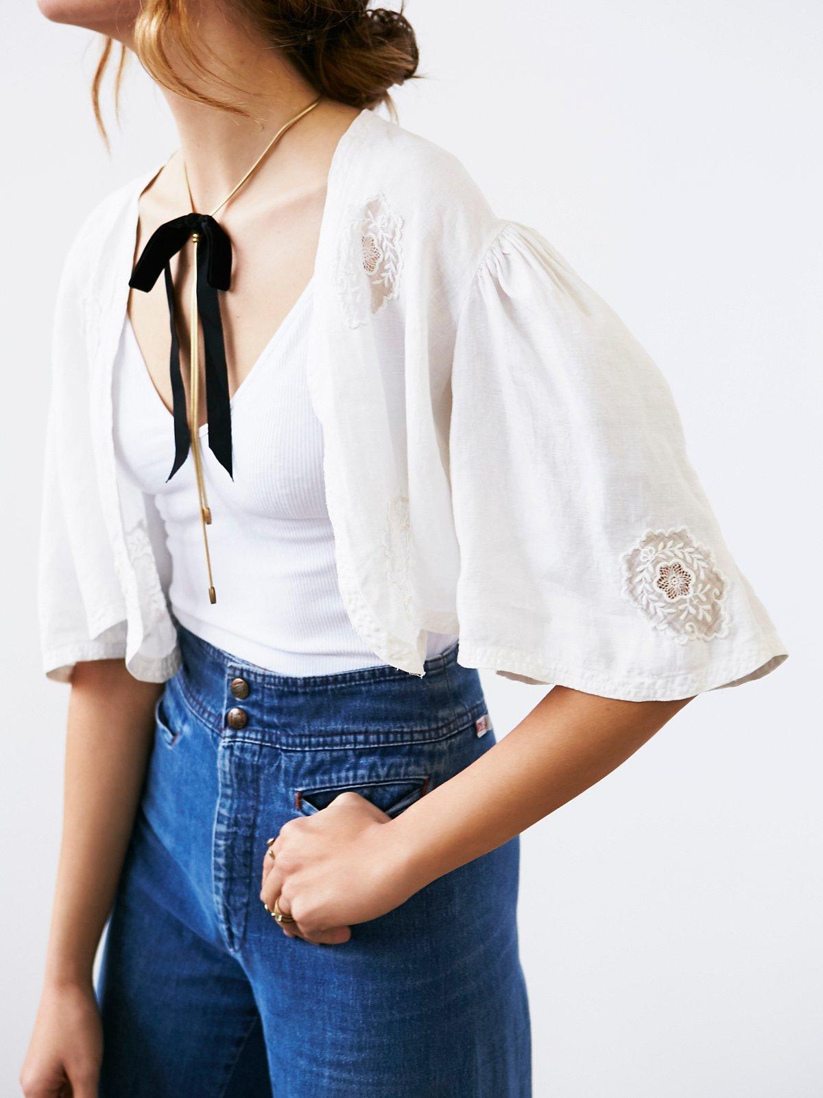 Vintage Cotton Bolero