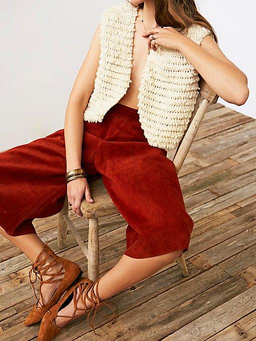 Product Image: Vintage Shaggy Knit Vest