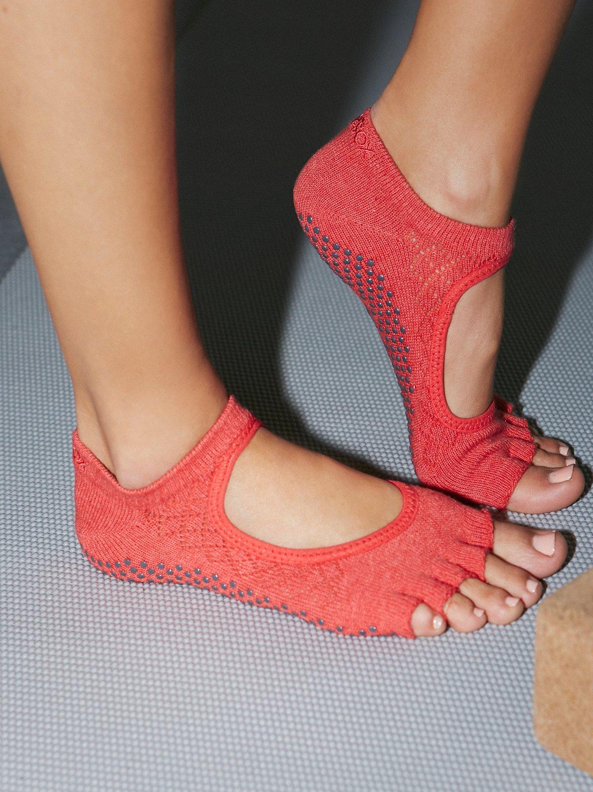 Pointelle Namaste Yoga Sock