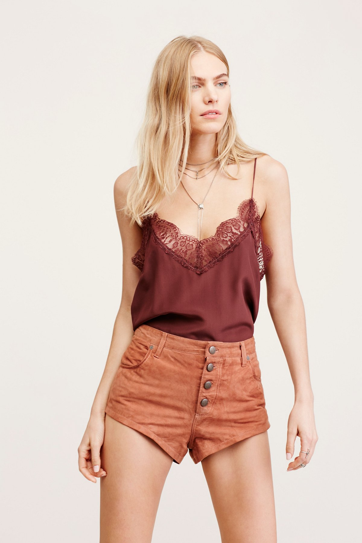 Cheeky Suede Short