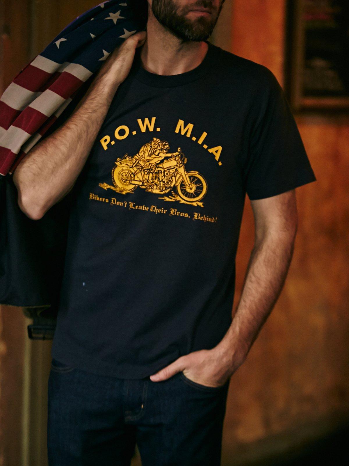 Vintage Pow Mia Tee Shirt