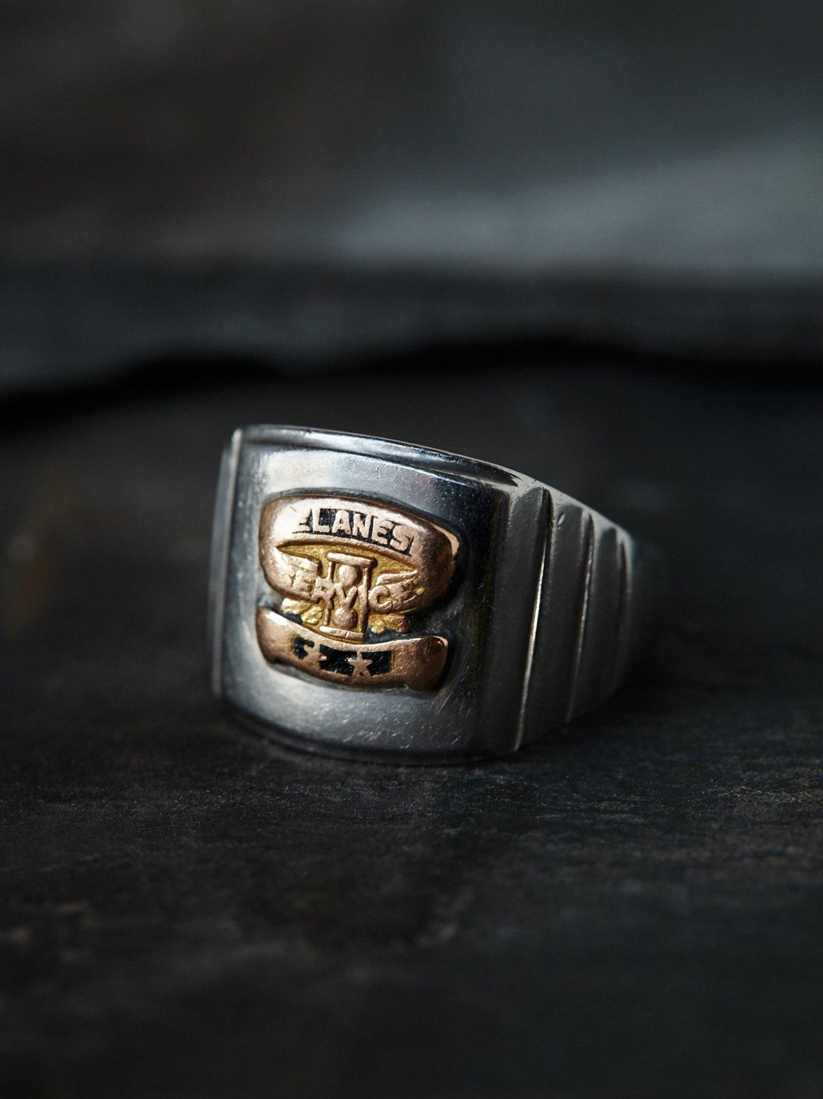 Vintage Motorcycle Ring