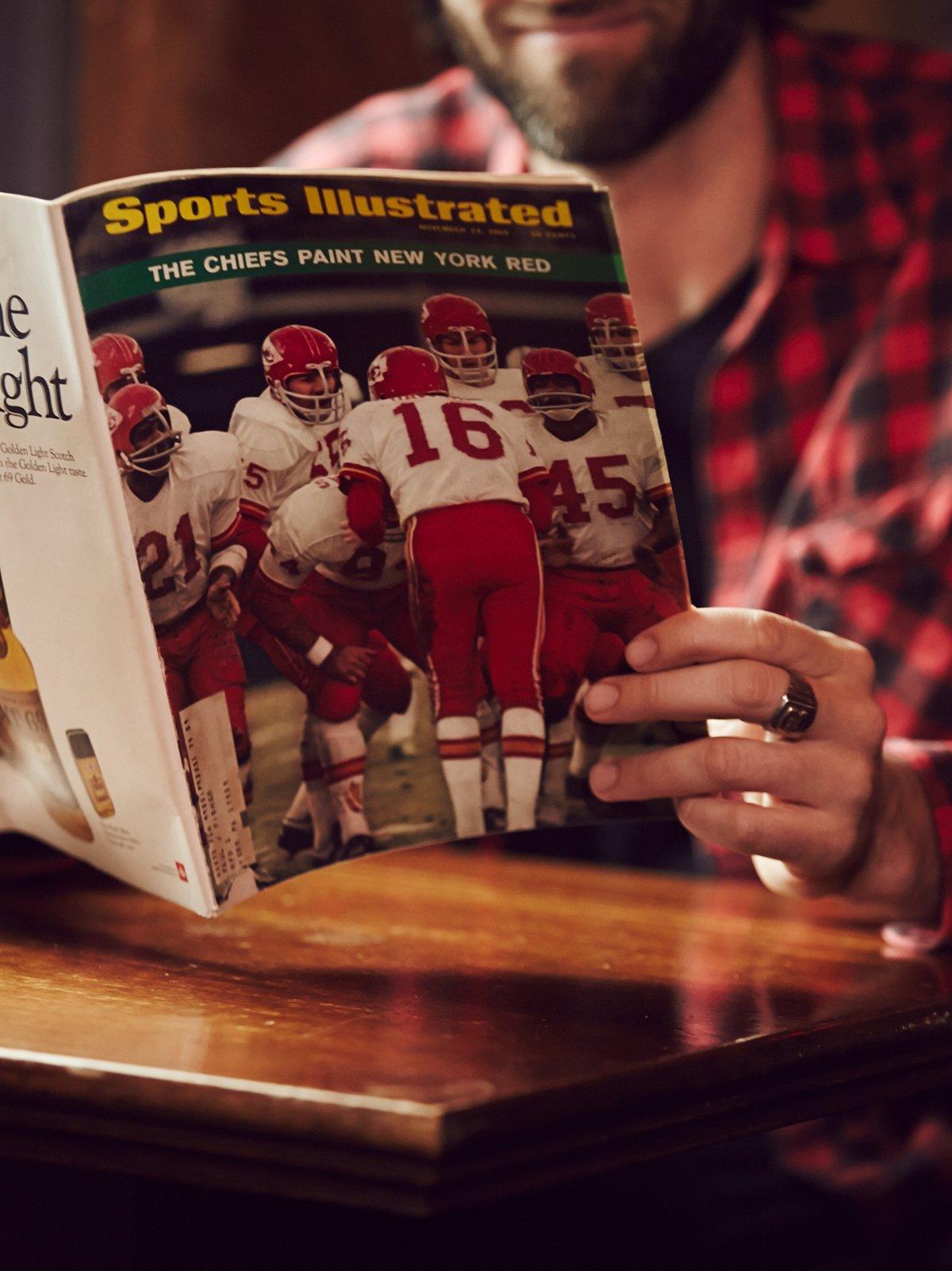 Vintage Sports Illustrated Magazine
