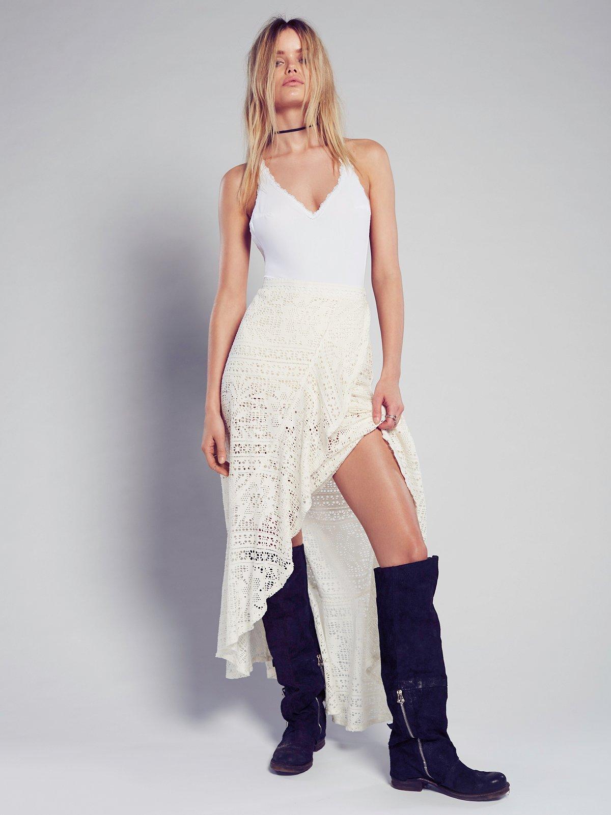Masquerade Maxi Skirt