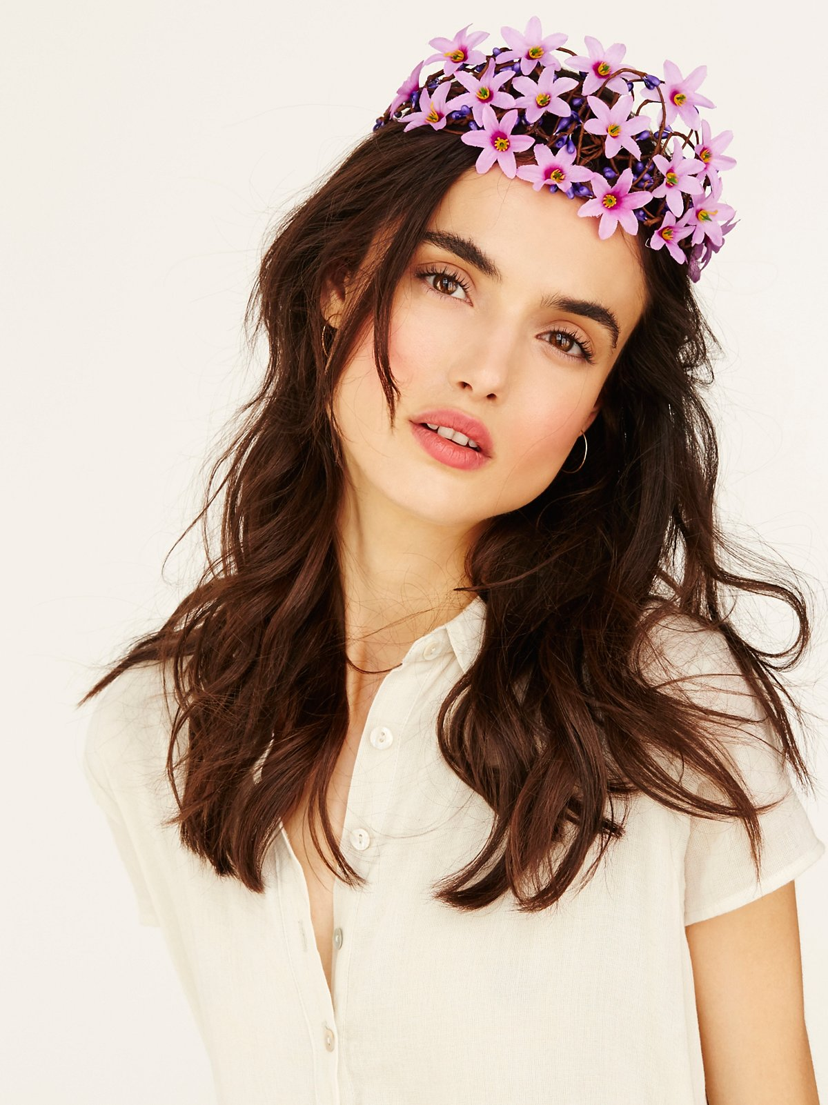 Juliet Floral Tiara
