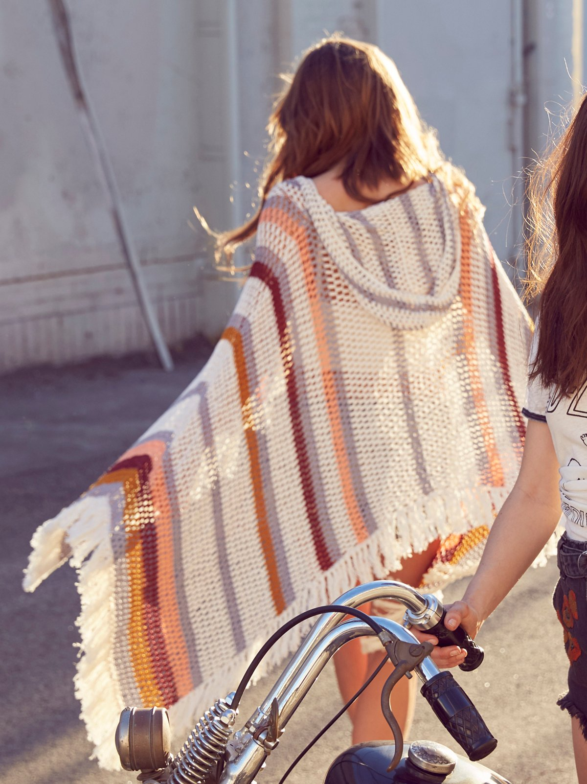 Summer Breeze Crochet Poncho