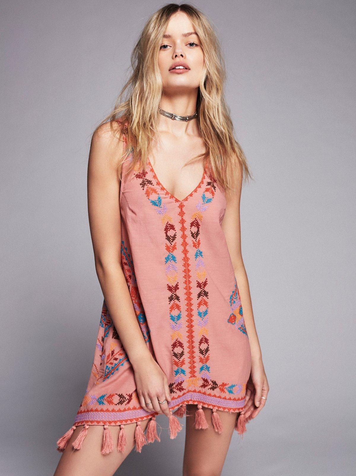 刺绣Gaia衬裙