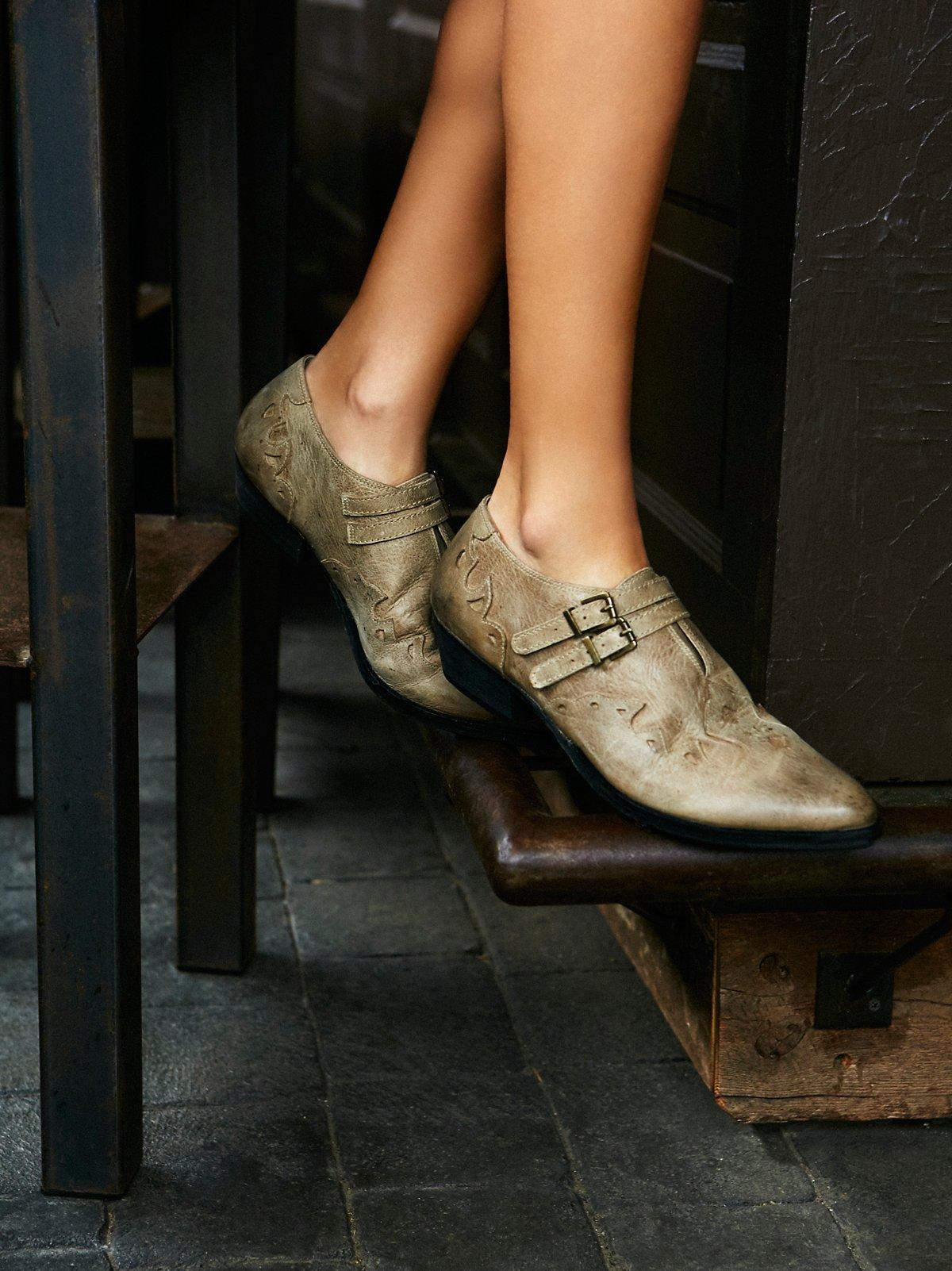 Monument Western踝靴