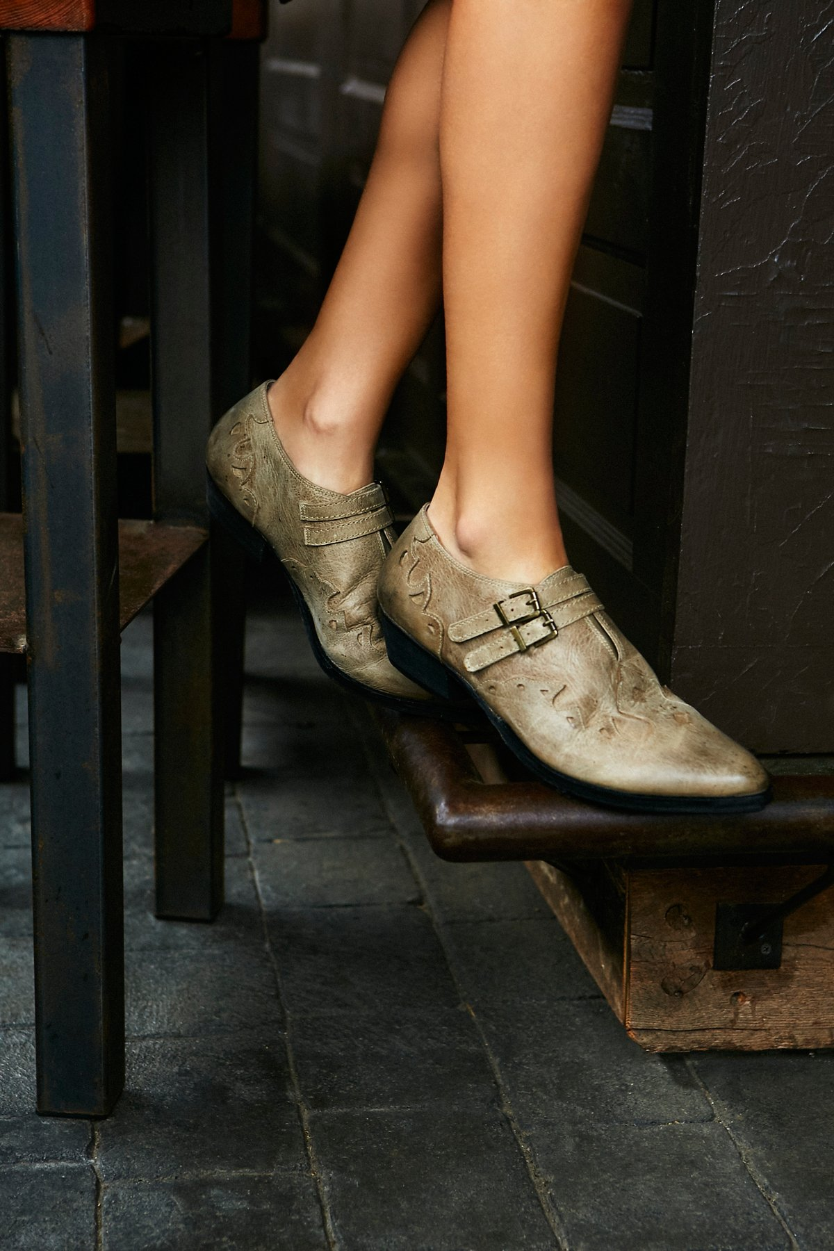 Monument Western Ankle Boot
