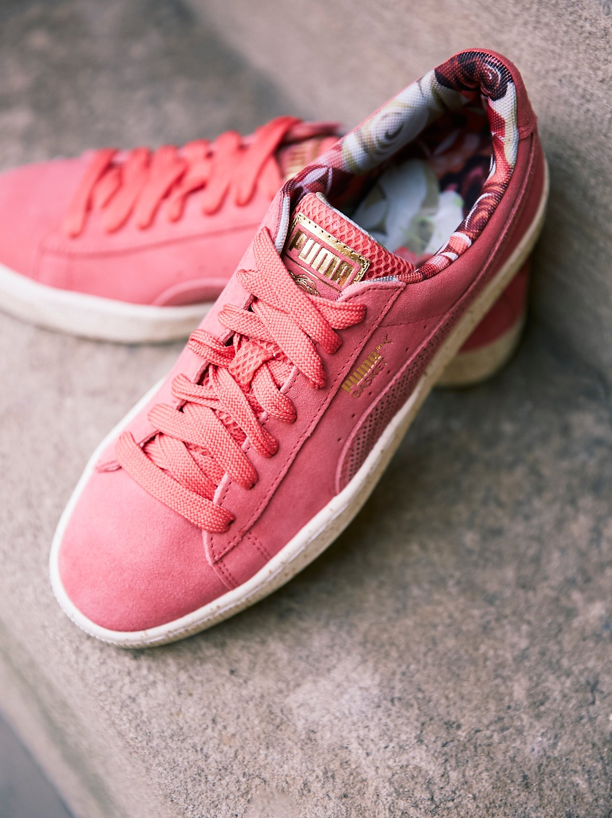 Suede x Careaux Sneaker