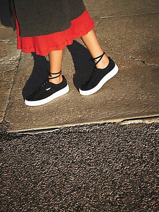 Product Image: Suede Platform Sneaker