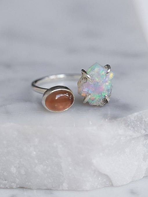 Product Image: Double Stone Mood Ring