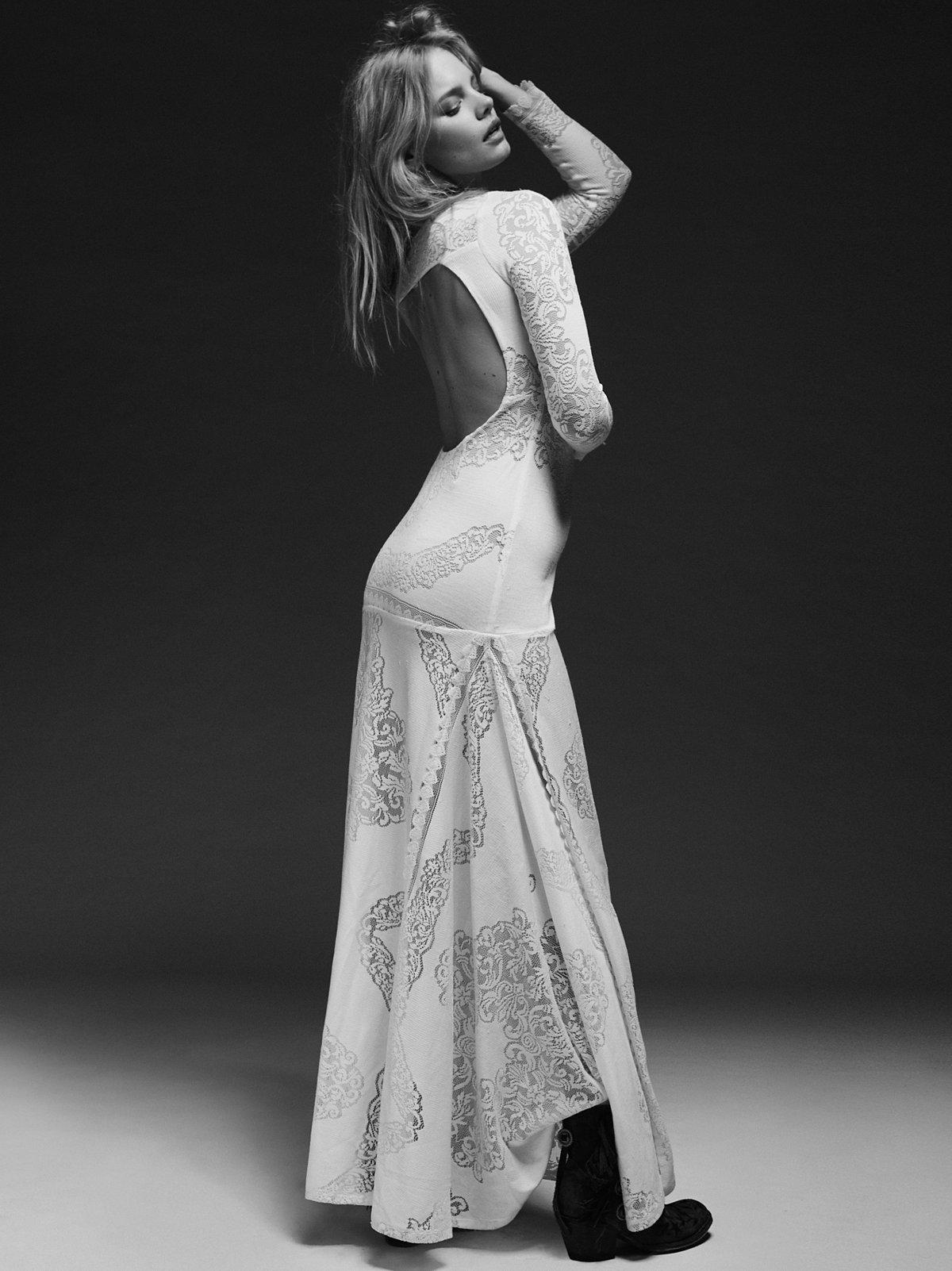 Carolyn's 限量版白色连衣裙