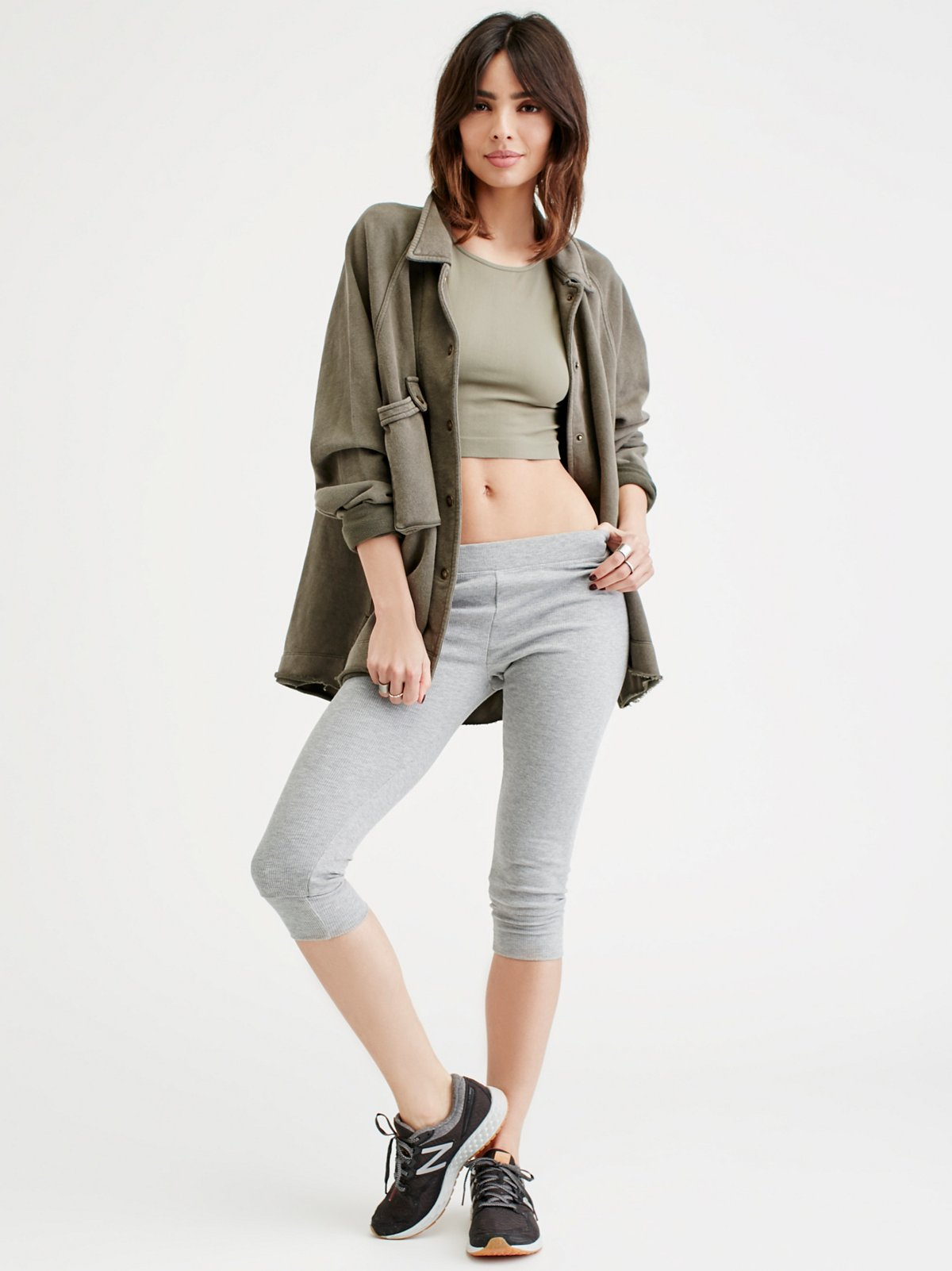 Jump It Crop Legging