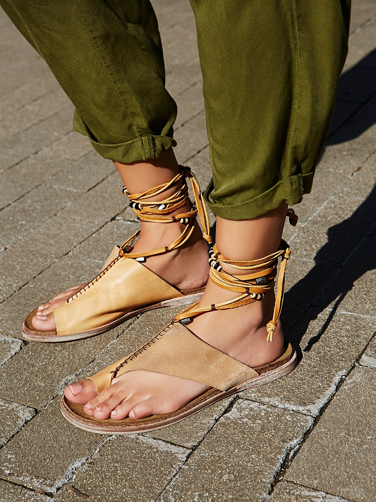 Leigh Hill Footbed Sandal