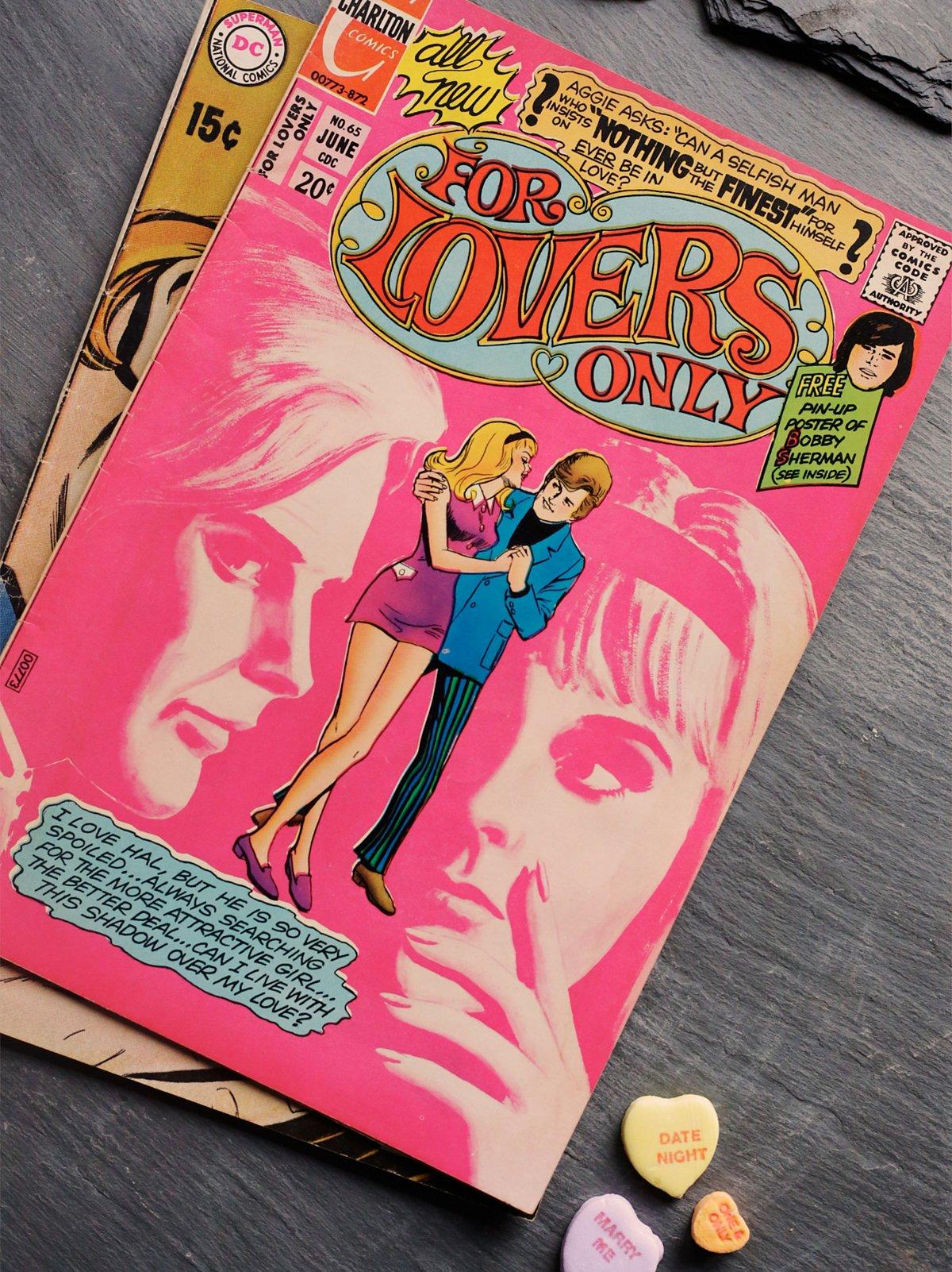 Vintage Romantic Comics