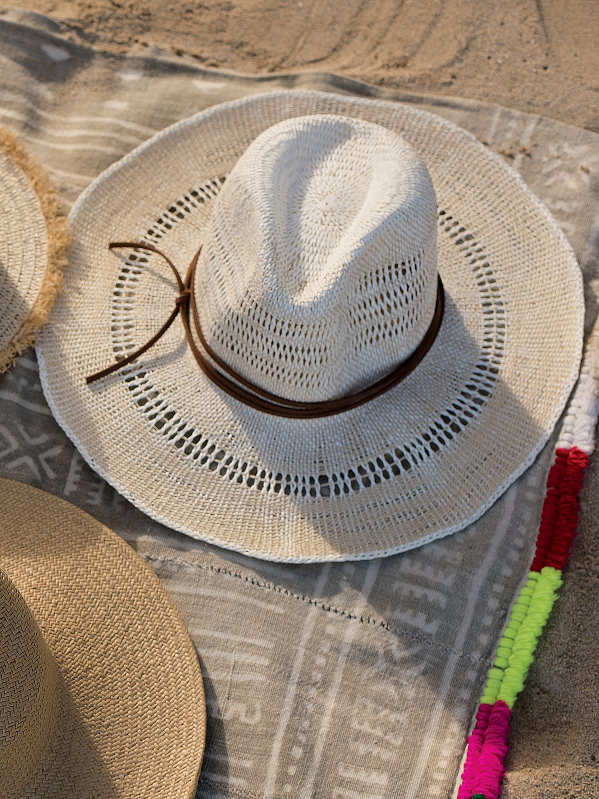 Sugar Magnolia Straw Hat