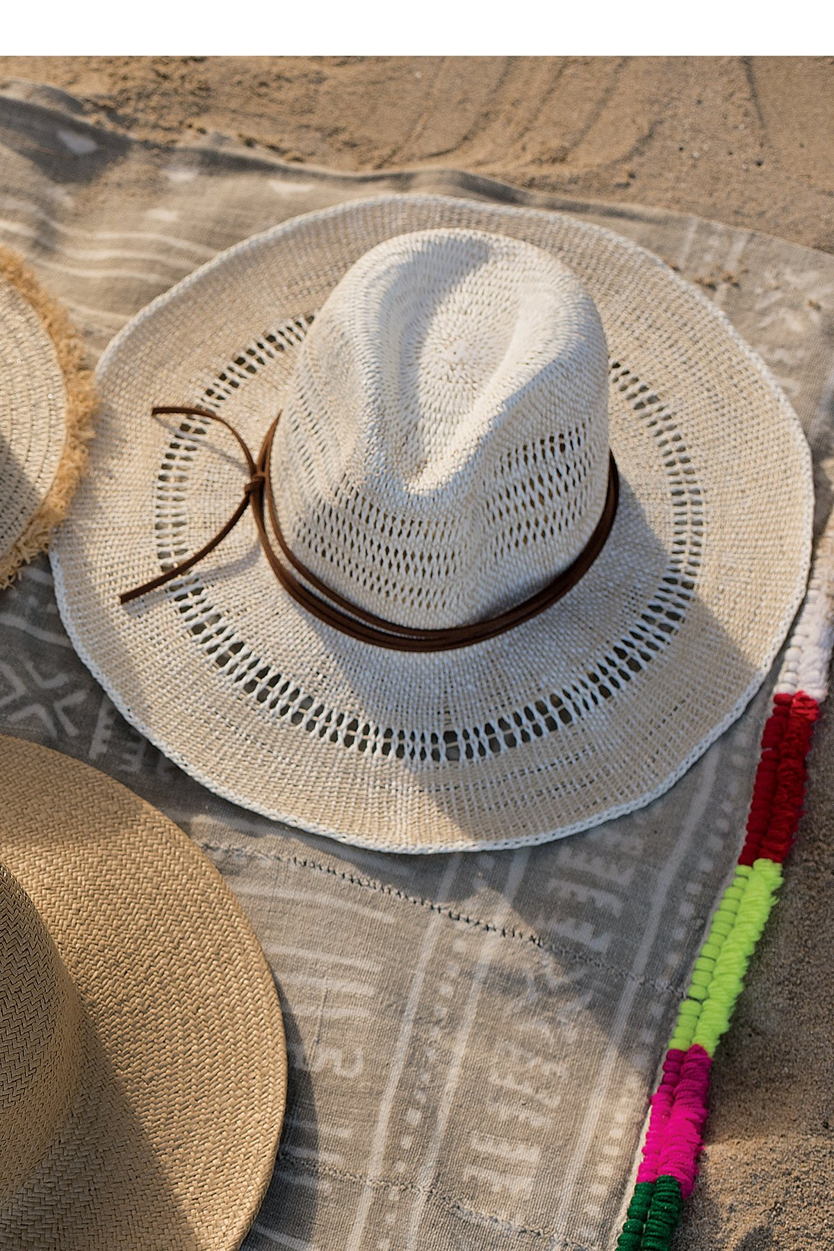 Sugar Magnolia Straw Hat