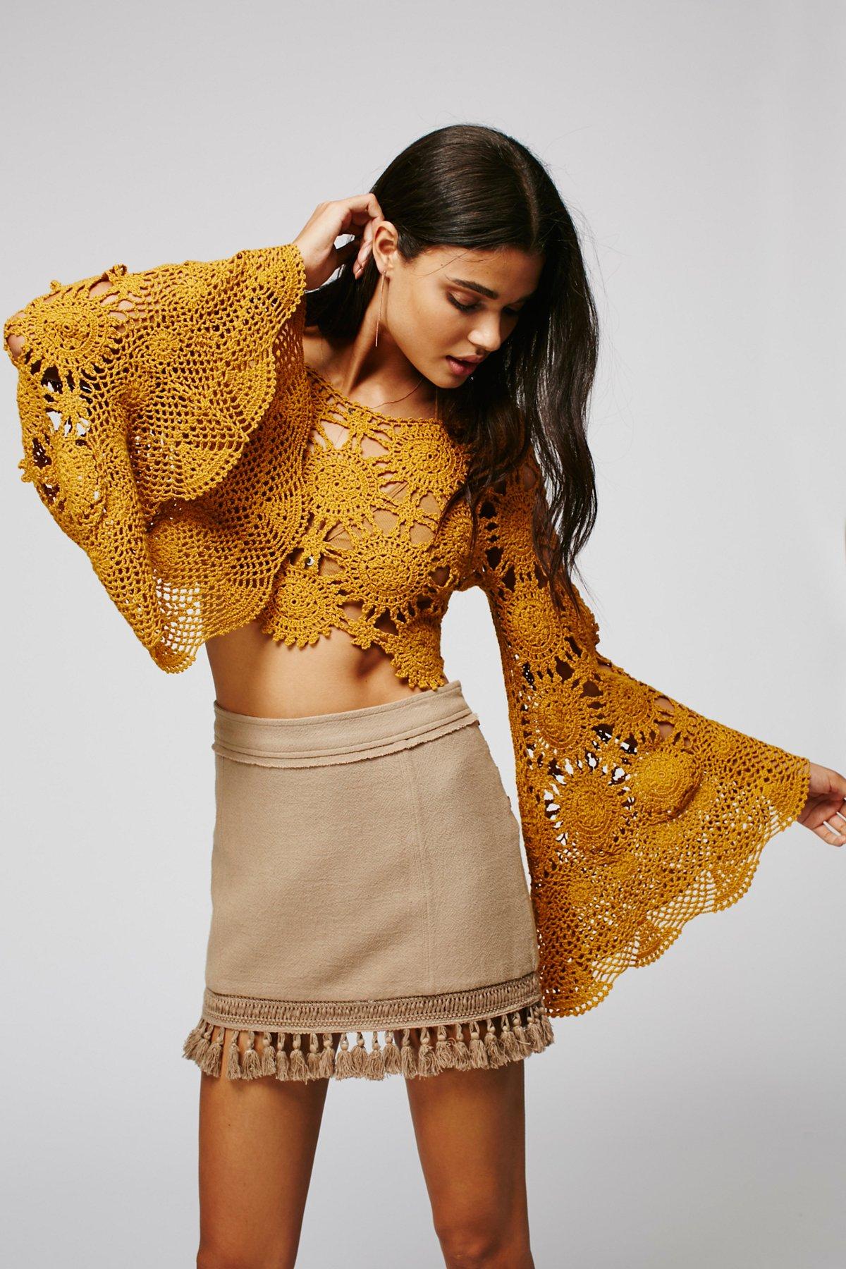 Sunchaser Crochet Top