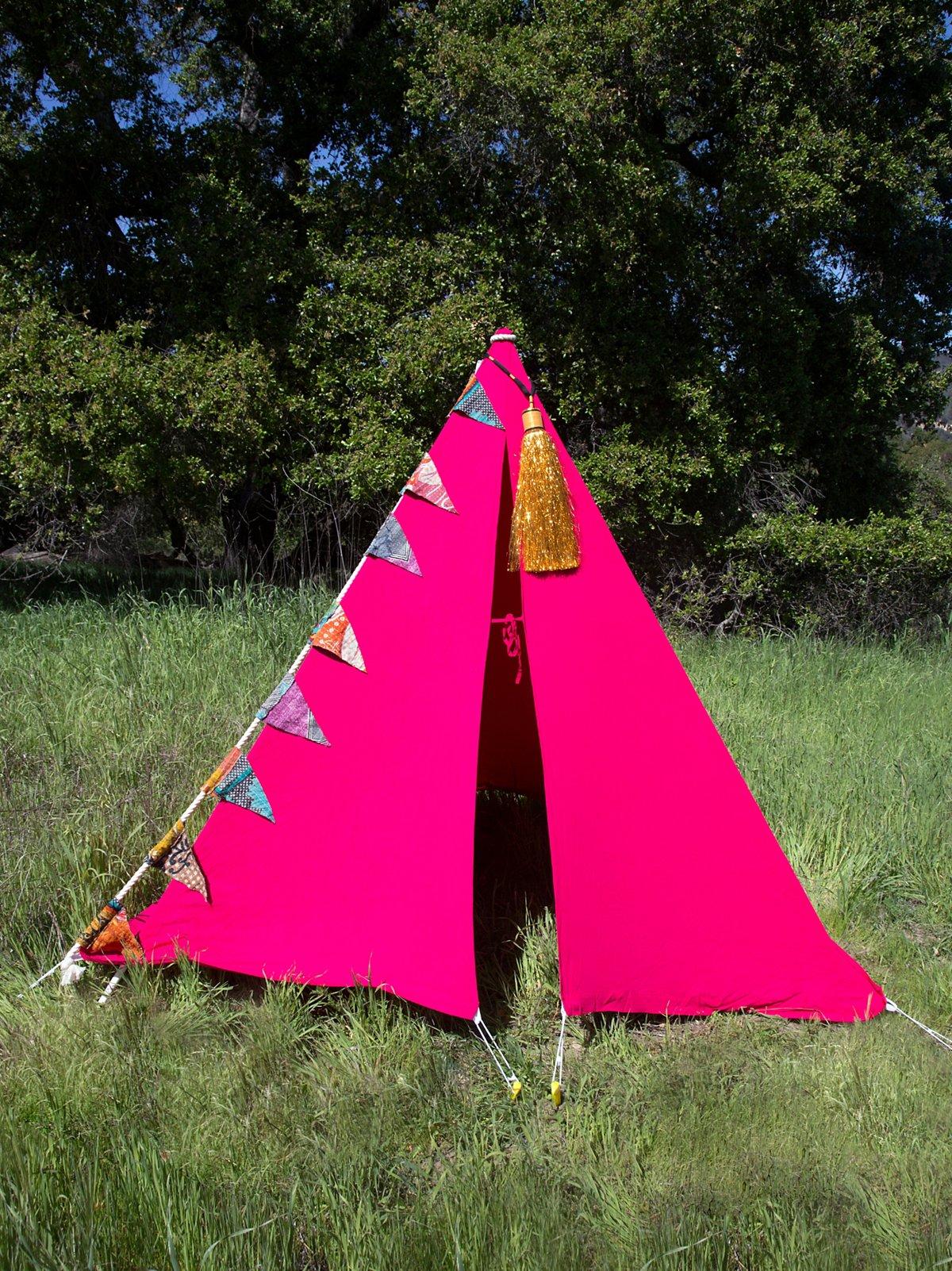 Pink Antigua Tent