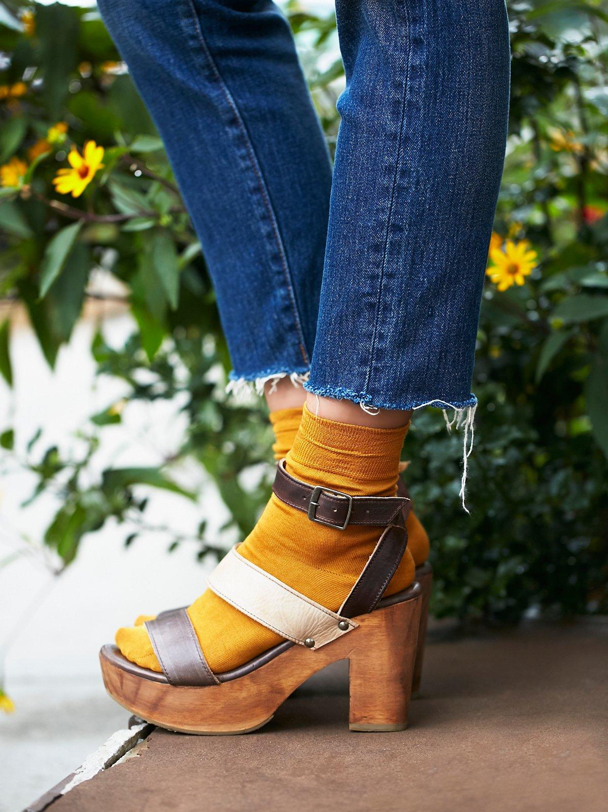 Gold Coast松糕木底鞋