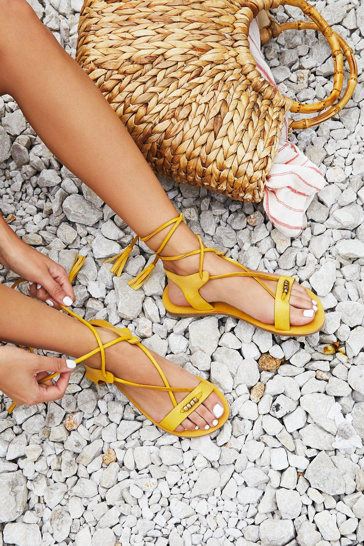 Bryn Marr Wrap Sandal